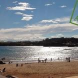 Disfrutando del sol: Asturias