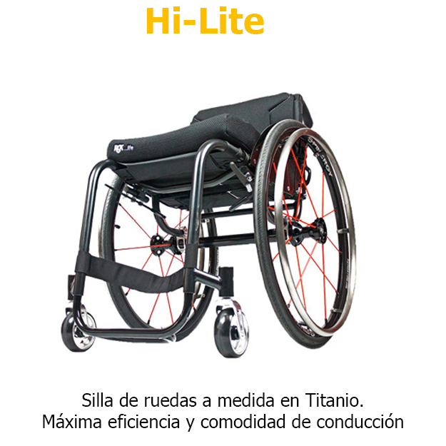 Sillas de ruedas RGK Hi-Lite