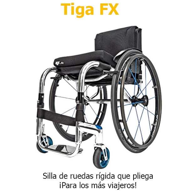 Sillas de ruedas RGK Tiga FX