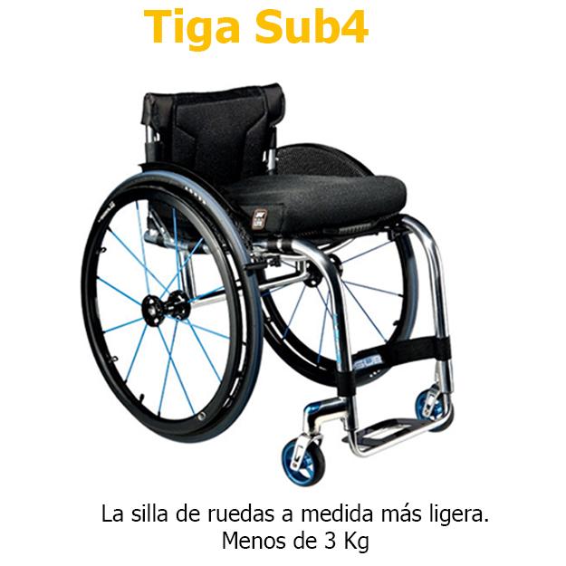 Sillas de ruedas RGK Tiga Sub4