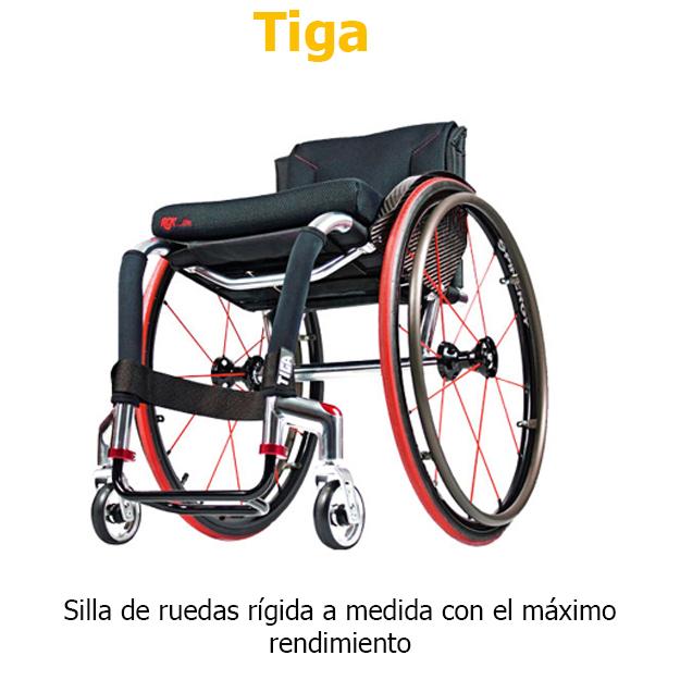 Sillas de ruedas RGK Tiga