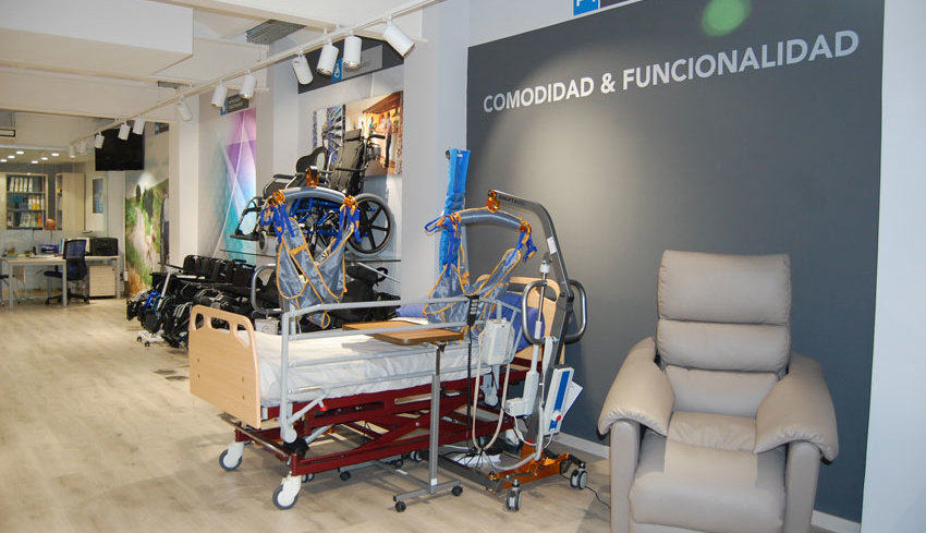 Ortopedia J. Guzmán sección Comodidad y funcionalidad